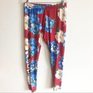 Adidas Originals Farm Big Floral Print Leggings L